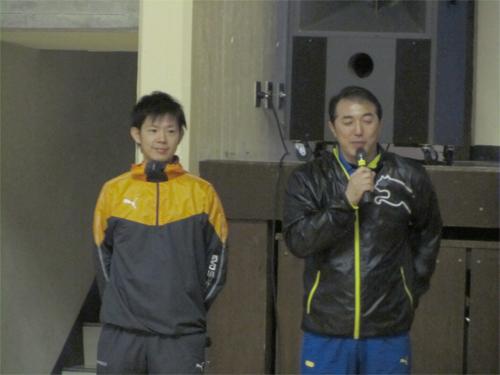 「【講師】(有)コバメディカルジャパン 統括 北村英志氏(左) 代表 木場克己(右)」