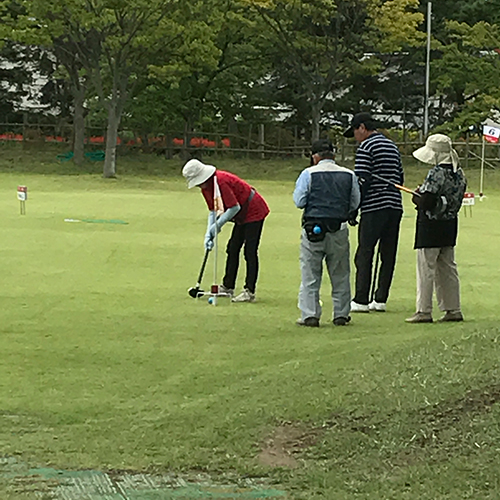 グラウンドゴルフ交流大会
