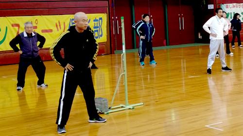 ②グリーンスポーツ倶楽部 嘉藤会長考案の体操