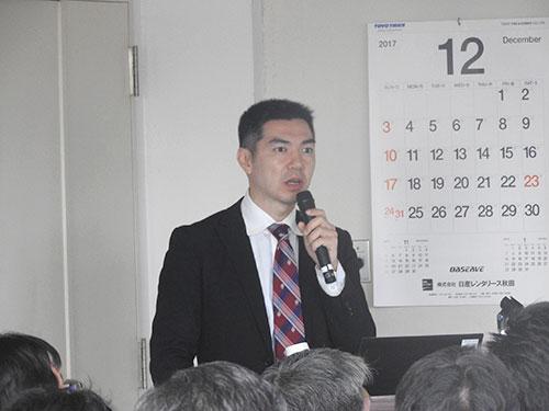 ④木島先生の講話
