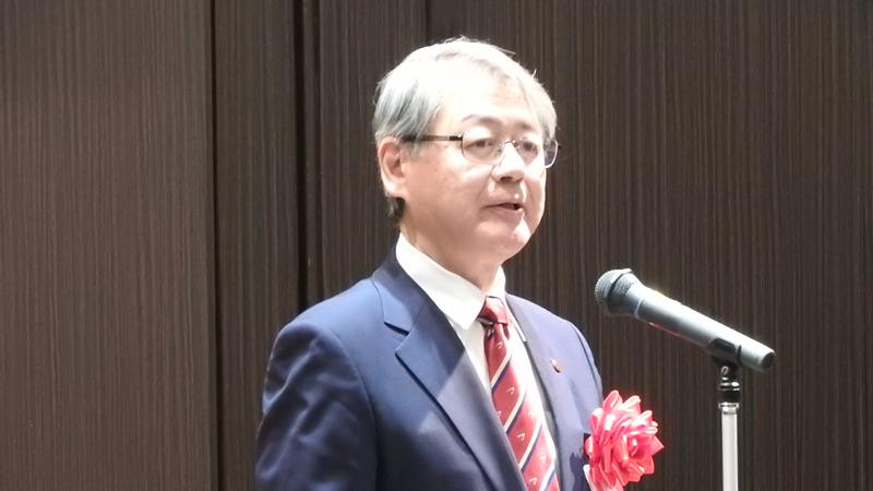 米田教育長の祝辞