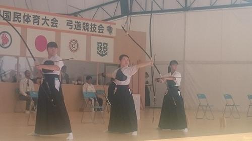 【弓道競技】