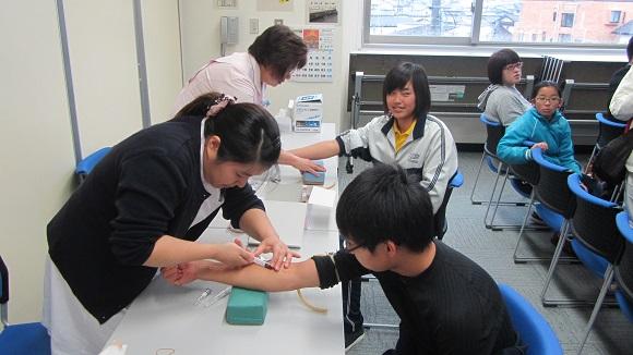 メディカルチェック(採血検査)